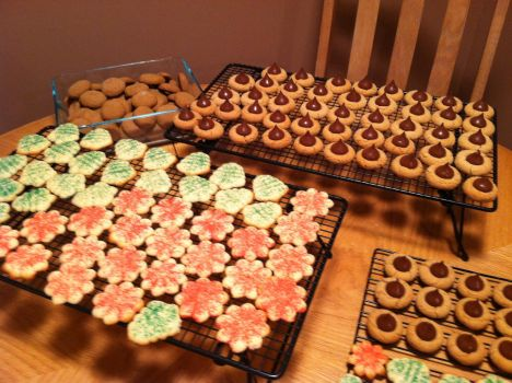 gingersnaps, peanuts butter, and spritz, oh my! by lyrics-in-the-sky