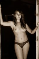 Doorway Nude by BrianMPhotography