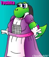 Maid For Mustoshi by ChessYoshi