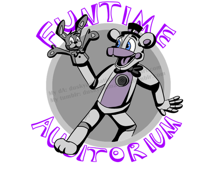 Funtime Auditorium Sign by DuskyAnimations