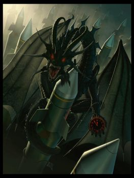 Doom Dragon by wallace