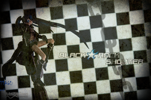 Black Rock Shooter Wallpaper by T1A60