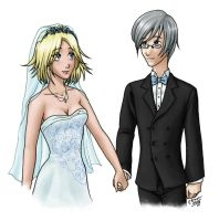 Wedding Couple by Iyou