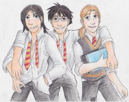 Marauding Trio by Blairaptor