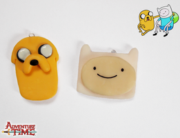 Adventure Time - Finn and Jake by Kyandi-charms