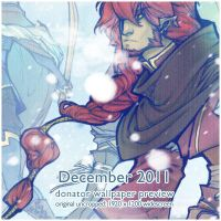 2011 December Donation Wallpaper Preview by DemonRoad