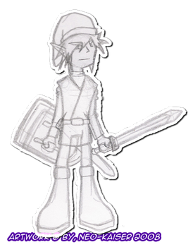 Link sketch by Neo-Kaiser