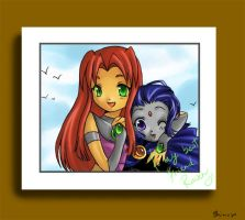 Starfire's Photo-op by shimoyo