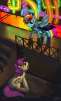 Rainbow Factory (Request 6) by DymasyaSilver