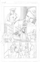 Thor Page 8 Pencils by Theamat