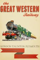 GWR Poster by zXRECMANXz