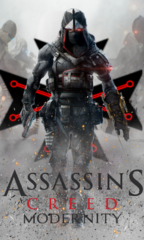 Assassin's Creed Modernity Book Cover Second Cover by Raidriar93