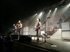 Bullet For My Valentine Concert by BloodyXxBanshee