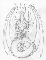 Raise up (pencil work) by SunFireDemon