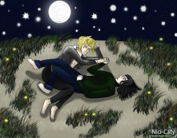 VC: Louis and Lestat at the dunes by Nici-Caty