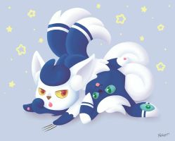 Meowstic ~ Leave me alone by Nekoeri