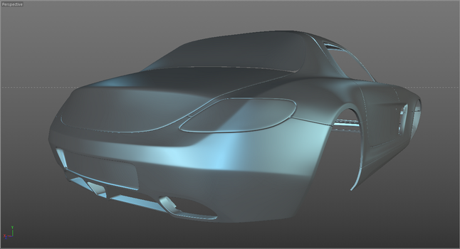 Mercedes-Benz SLS AMG WIP 03 by SonicBlue555