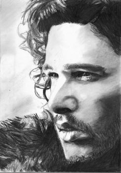 Jon Snow-Kit Harington by bclara88