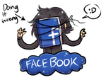 FACEBOOKING by Little-Miss-Boxie