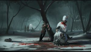 Dead Snow Man by matellis