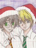 Have a HarryxDraco Christmas by MetrosexualSnape