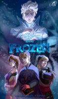 Frozen Genderbend Movie Poster by juliajm15