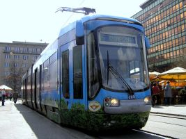 Katowice tram by michal1995