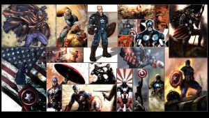 Captain America Wallpaper by GT-Orphan