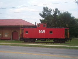 NW caboose by CNW8646