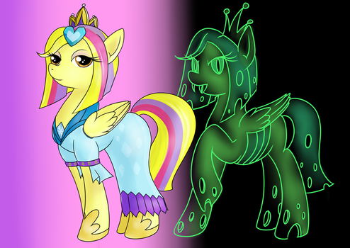 Our Princess and Queen Anneli by Cwossie