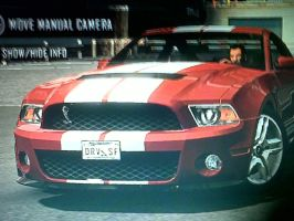 driver. mustang GT by daz1200