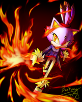Fear the power of the flames!! by Baitong9194