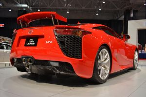 Lexus LFA (Rear 3/4) by Anths95