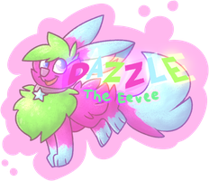 Dazzle The Eevee by 0Shiny0