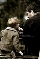 a father and a son.. by bluebag
