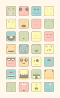 Faces by Juques