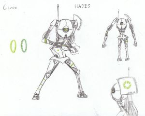 Aperture Science Cooperative Testing Robot HADES