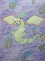 Rose the Flygon by CharizardLover004