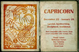 Capricorn by Miss--Dee