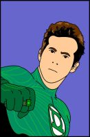 Green Lantern Unmasked by Mr-P-P-Hed