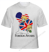 USxUK: Foreign Affairs Shirt by Hei-Chan