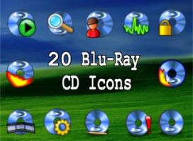 20 blu-ray cd icons by zman3