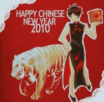 DRRR Happy CNY 2010 by fujisawaloser