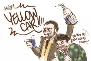 because i needs new ID and i love niko and roman by RobinTea