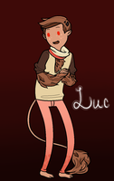 Luc the Fraisier Cake Demon by pixelodon