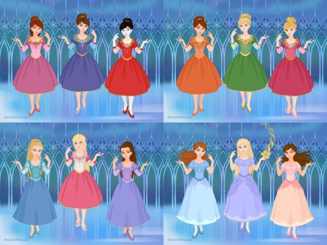 12 Dancing Princesses by M-Mannering