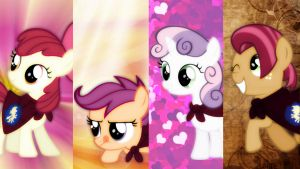 The Cutie Mark Crusaders! by xRandomGurl