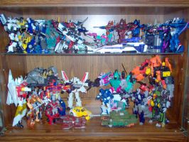 My Transformers Display Case 4 by Air-Hammer