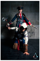 ::AC3 : Father and Son together into the battle :: by Lanzio