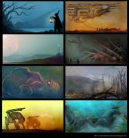 Composition Sketches by Devin87